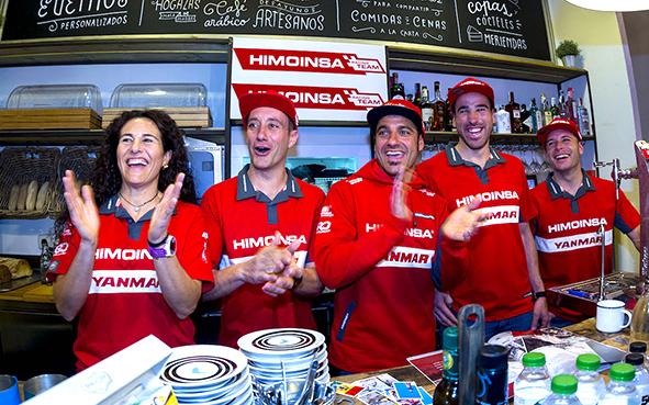 'La Roja del Dakar' de Himoinsa, lista para el Dakar 2018