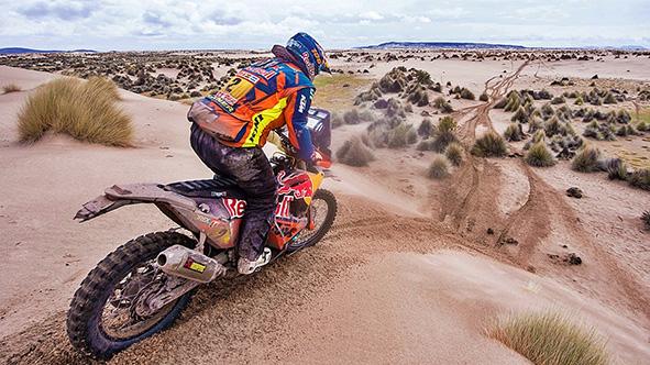 Matthias Walkner gana la 40 edición del Dakar en moto