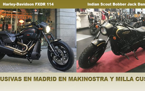 Indian y Harley-Davidson, únicas en la capital