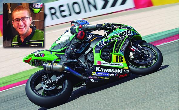 Grave accidente de nuestro piloto En Moto, Lucas de Ulacia